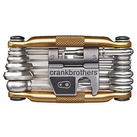 Crankbrothers Multi-19 Outil multifonction, gold